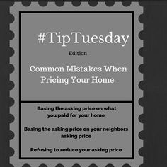 home #TipTuesday. Took timeout for the holidays but I am back slinging tips on Tuesda...