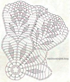 crochet doilies No name Free Crochet Doily Patterns, Crochet Doily Diagram, Crochet Mandala, Crochet Chart, Crochet Motif, Crochet Stitches, Needlepoint Stitches, Lace Doilies, Crochet Doilies