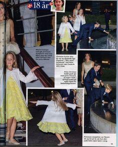 Danish Royal family was seen after celebrate Prince Nikolai birthday