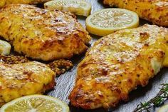 Crispy Cheddar Chicken – Delicious recipes to cook with family and friends. Meat Recipes, Chicken Recipes, Cooking Recipes, Healthy Recipes, Delicious Recipes, Recipies, Dinner Recipes, Lemon Roasted Chicken, Baked Chicken