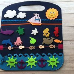 45 Super Ideas Sewing Toys For Baby Diy Quiet Books Diy Quiet Books, Baby Quiet Book, Travel Toys, Air Travel, Busy Book, Sewing Toys, Diy Toys, Handmade Toys, Toddler Activities
