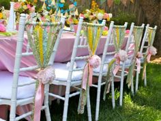 cute party chairs