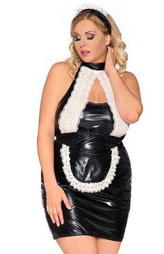 Andalea Z/5010 kostium Seksowny kostium kelnerki, rozpali zmysły, koszulka wykonana z połyskującego materiału