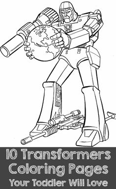 10 Popular Transformers Coloring Pages Your Toddler Will Love: Here are the top 10 transformers coloring pages to kindle interest among children