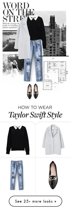 """""""Go get out there!"""" by amber-aardenburg on Polyvore featuring Kate Spade, Essentiel and MANGO"""
