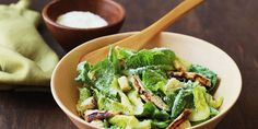 Make the classic Caesar salad exciting again (and more main-dish worthy) with simple additions like marinated shrimp, shiitake mushrooms, and tofu croutons.