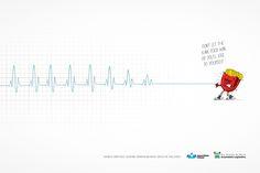 Campaña contra la comida basura #publicidad #nutricion #creatividad