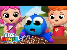 Itsy Bitsy Spider Needs to Get Home!   Little Angel Kids Songs & Nursery Rhymes - YouTube Angel Kids, Itsy Bitsy Spider, Jack And Jill, France, Youtube, Kids Songs, Nursery Rhymes, Luigi, Learning