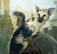 The Last Guardian by Tatchit.deviantart.com on @DeviantArt