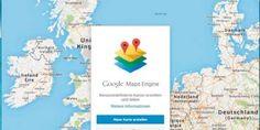 Google Maps Engine: Die Online-Anwendung ermöglicht es Ihnen, Karten mit Markierungen und Beschreibungen zu versehen und mit anderen zu teilen.