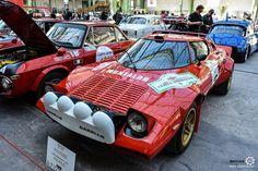 #Lancia #Stratos au départ du #TourAuto au Grand Palais. Reportage complet : http://newsdanciennes.com/2016/04/19/cest-parti-tour-auto-2016-verifs-grand-palais/ #ClassicCars #Voitures #Anciennes #Racing
