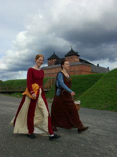 Hämeen keskiaikamarkkinat - Häme Medieval Faire 2007, Ladies, © Timo Martola Medieval, Marketing, Mid Century, Middle Ages