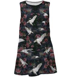 Swans summer dress for kids, Mr. GUGU & Miss GO Kids Line, Swans, Dress Skirt, Summer Dresses, Skirts, Women, Fashion, Formal Skirt, Moda