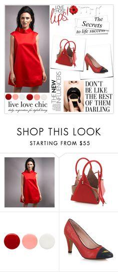 Ravishing Red Dress. Style it with @nitasuri_bcn bag & @yullshoes. #ShopAtMayfair by atmayfair on Polyvore featuring Eve Snow, Yull and Nivea