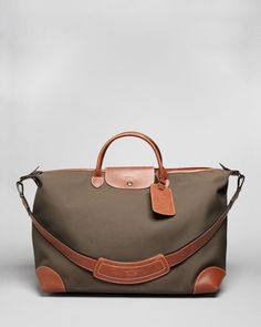 Longchamp Boxford Travel Bag- Only Longchamp I would ever buy if I couldn't get a LV duffle