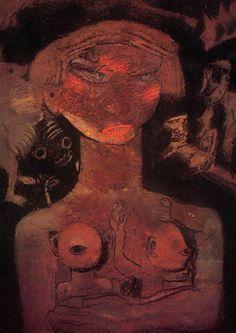 Frits Van den Berghe (1883 -1939) was een Vlaams kunstschilder.Van den Berghe werd geboren te Gent. Hoewel vandaag algemeen erkend als meester van het Vlaamse Expressionisme en het fantastisch surrealisme, bracht hij aanvankelijk fijngevoelige impressionistische werken, met opvallend symbolistische inslag.