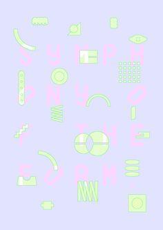 Japanese Poster: Symphony of Form. Ryo Kuwabara. 2014