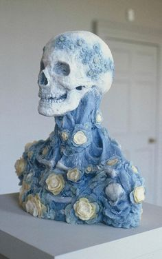 Rebecca Stevenson Sculptures - Some of the best skull sculptures I have seen in a while: http://skullappreciationsociety.com/rebecca-stevenson-sculptures/ via @Skull_Society