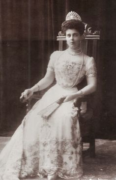 Princess Helena of Greece, nee Grand Duchess Helena Vladimirovna of Russia. Early 1900s