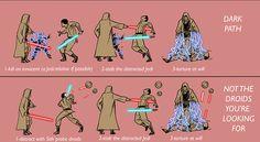 El Blog de Pere Pérez: Luchas Sith con sables de luz