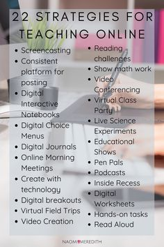 How to Teach Online for Home Learning - Naomi Meredith