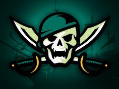 Pirates by CJ Zilligen   American Logo Sport Theme