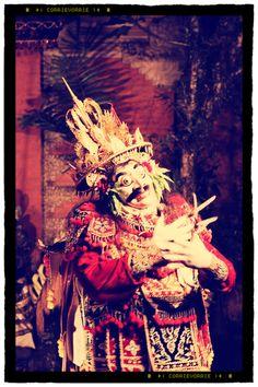 Jauk Dance - a mask dance
