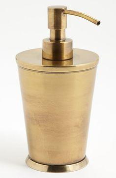 Brass Soap dispenser