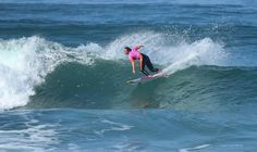 Carissa Moore during Round 4 of the Roxy Pro France