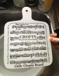 I'll put it on my Chopin Liszt.