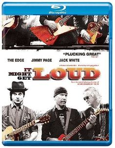 IT Might Get Loud Music documentary exploring the lure the electric guitar has had on renowned axe-wielders Jimmy Page The Edge and Jack White. Director Davis Guggenheim traces the three guitarists boyhood influences a http://www.MightGet.com/january-2017-12/it-might-get-loud.asp