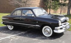 1951 Ford Sedan                                             My dads car until I was 16. My friend & I Transferred an engine from his car to mine.