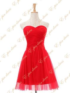Short Bridesmaid Dress  Red Bridesmaid Dress / Purple by epindress, $89.00