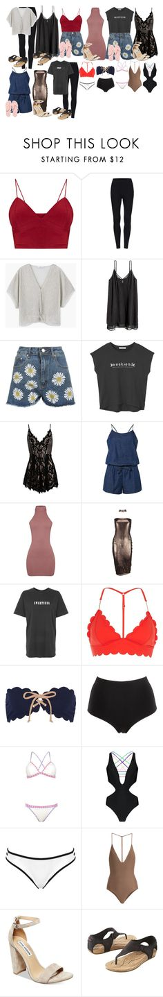 """""""BALI"""" by altheaklarize ❤ liked on Polyvore featuring MANGO, WearAll, Sans Souci, Dorothy Perkins, Boohoo, The Ragged Priest, River Island, Marysia Swim, La Perla and Topshop"""