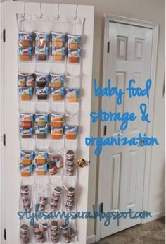 You can also use it to store diapers, burp cloths, pretty much any baby product!