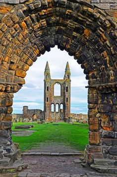 St Andrews Cathedral, Scotland  (636×960)