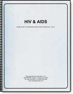 This course will enable you to identify symptoms and know the different modes of HIV prevention, transmission, and treatment. Legal issues facing healthcare workers and massage therapists, as well as testing procedures and results, are covered. Upon completion of the course, you will have a firm grasp of the definitions of HIV and AIDS, the resulting implications for the massage therapist, and specific knowledge for implementing infection control procedures in the massage therapy