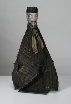 hand puppet made by Paul Klee for his son, Felix