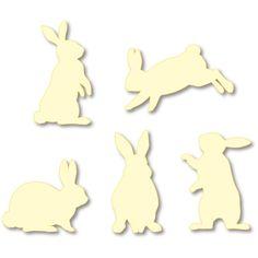 Wall Decorations: Rabbit (Cream),Wall Decorations,Home and Living,rabbit,Silhouette,decoration,Cream,rabbit