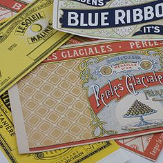 Lily-Ashbury_vintage can label freebie printables | Paper ...