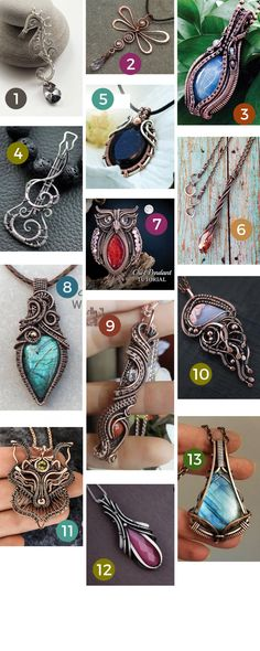 Diy Stone Wrapping, Wire Wrapping, Wire Jewelry Making, Jewelry Making Tutorials, Wire Tutorials, Wire Jewelry Designs, Handmade Wire Jewelry, Wire Wrapped Pendant, Wire Wrapped Jewelry