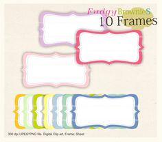 on sale digital frame square frames clipart outline frame digital rh pinterest com Digital Scrapbooking Ideas free digital scrapbooking clipart