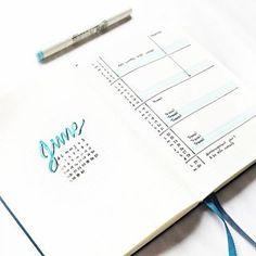 June Monthly log for the Bullet Journal.Insta: @petitemelanie_
