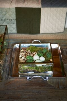 French Glass Box S