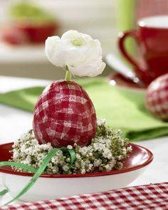 Basteln deko fr hling und ostern on pinterest deko egg - Wunderweib deko ...