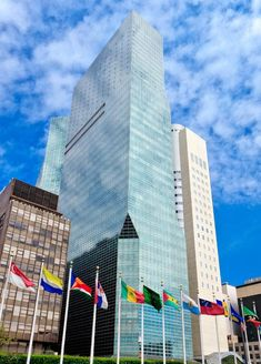 Hilton Secures Landmark Hotel in New York City with Opening of Millennium Hilton New York One UN Plaza Hilton Hotels, Hotels And Resorts, Luxury Hotels, New York One, New York City, Glamping, United Nations Headquarters, New York Hotels, Landmark Hotel