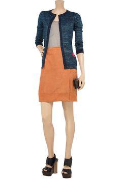 Z SPOKE BY ZAC POSEN  Metallic cotton-blend cardigan