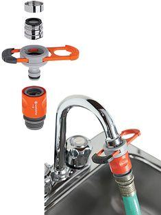 Awesome Sink To Hose Connector Diy Toolsknivesgunsgadgets - Bathroom tap hose connector for bathroom decor ideas