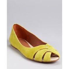 Lucky Brand Flats - Ester Cutout. Someone buy these for me. k? k.