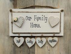 Family home plaque